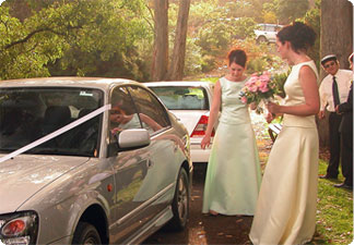 Woodland Weddings Cars